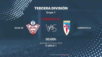 Previa partido entre Silva SD y Compostela Jornada 30 Tercera División