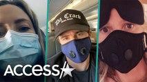 Selena Gomez, Gwyneth Paltrow and More Stars Wear Face Masks Amid Coronavirus Fears