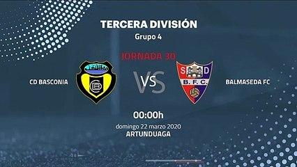 Previa partido entre CD Basconia y Balmaseda FC Jornada 30 Tercera División