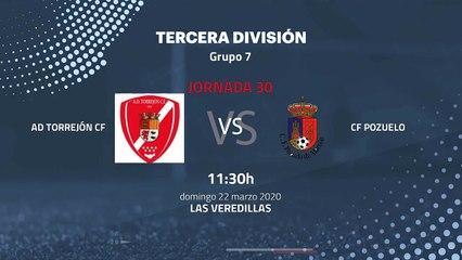 Previa partido entre AD Torrejón CF y CF Pozuelo Jornada 30 Tercera División