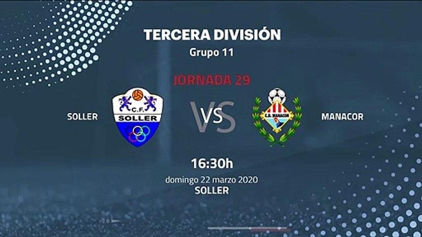 Previa partido entre Soller y Manacor Jornada 29 Tercera División