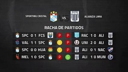 Previa partido entre Sporting Cristal y Alianza Lima Jornada 8 Perú - Liga 1 Apertura