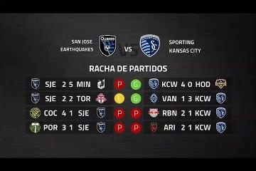 Previa partido entre San Jose Earthquakes y Sporting Kansas City Jornada 5 MLS - Liga USA