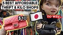 5 BEST Affordable Thrift & Kilo Shops to Visit in Tokyo, Japan | Q2HAN