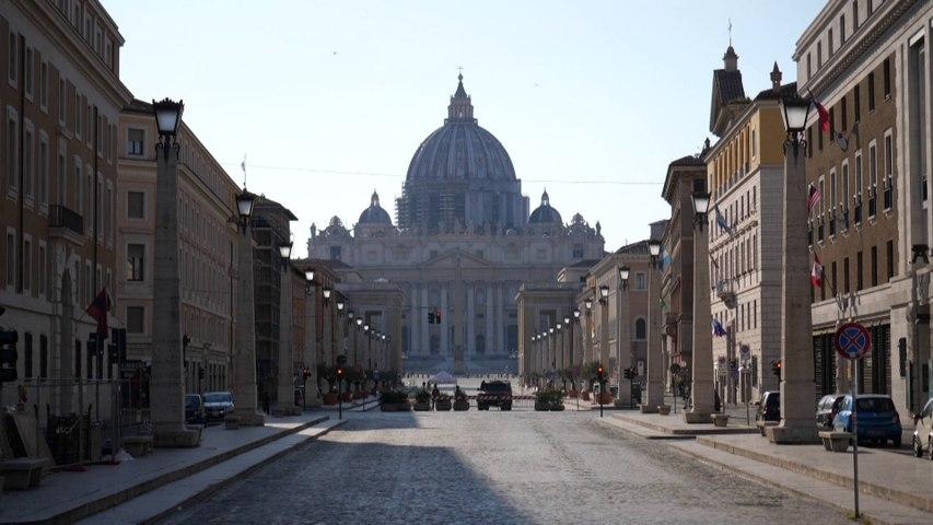 El papa Francisco se une por vídeo a oración de fieles italianos contra el coronavirus