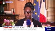"""Sibeth Ndiaye: """"Il y a un dialogue mené avec les assureurs pour voir comment ils peuvent prendre en charge les pertes d'exploitation"""""""