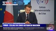 """""""Je félicite ceux qui avaient prévu tous les éléments de la crise une fois qu'elle a eu lieu"""": Emmanuel Macron tance les """"commentateurs"""""""