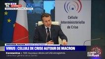"""Emmanuel Macron: """"Il faut pouvoir nous réorganiser face aux imprévus et pouvoir anticiper"""""""