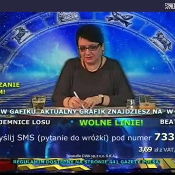 Polsat - Wróżby z Beatą Nowak - 19/20.03.2020 - fragment