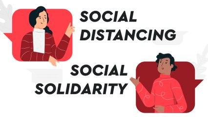 Terapkan Social Distancing tapi Jangan Lupakan Social Solidarity