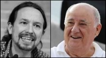 El malnacido Iglesias ni agradece al gran Amancio Ortega su generosidad con España