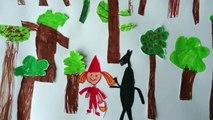 Le Petit Chaperon Rouge,  la version des frères Grimm.
