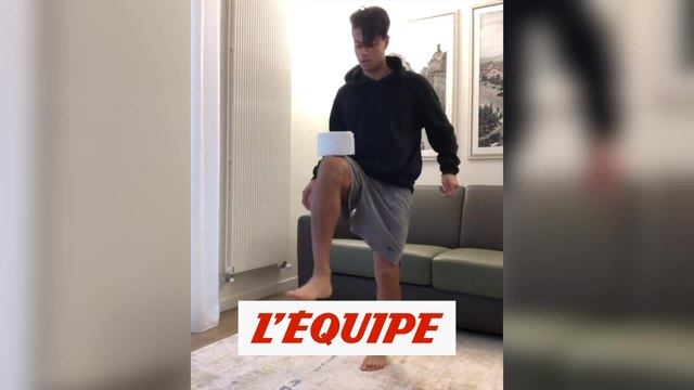 Le stay at home challenge de Mastour - Foot - WTF
