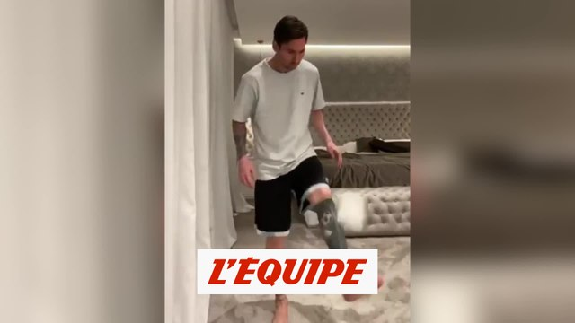 Messi relève enfin le PQ Challenge - Foot - WTF