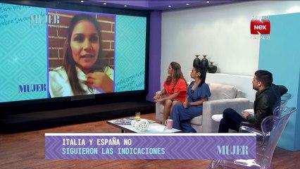Kathy Amores llora desde España por estar lejos de su familia -  Nex Noticias