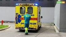 L'Avenir - Déménagement MontLégia 3 : Nettoyage des ambulances