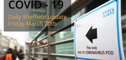 Covid-19_Sheffield daily update March 20th 2020
