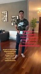 Radamel Falcao'dan #EvdeKal çağrısına destek
