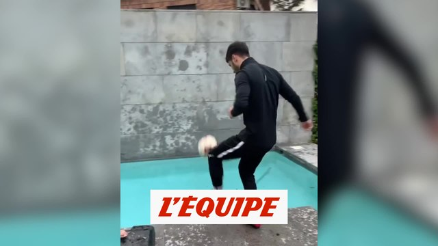 Le stay at homme challenge d'Asensio ne passe pas - Foot - WTF