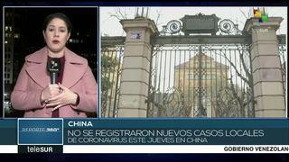China no ha registrado nuevos casos de coronavirus