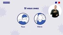 Coronavirus : que faire en cas de signe ?
