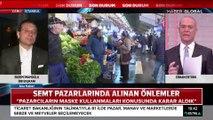İBB Başkanı Ekrem İmamoğlu İstanbul'daki koronavirüs önlemlerini Haber Global'e anlattı