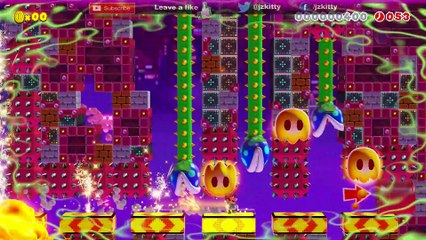 LET'S PLAY SUPER MARIO MAKER 2 - DASH BLOCKS FULLY AUTOMATIC LEVEL