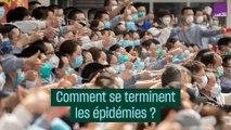 Comment se terminent les épidémies ?