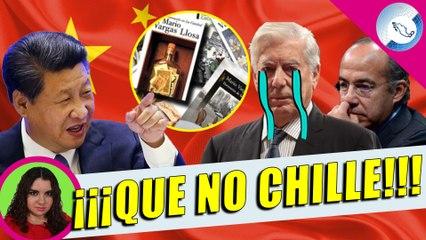 ¡Ándele! Vargas Llosa Compadre de Borolas Es Exiliado de China Por M4món