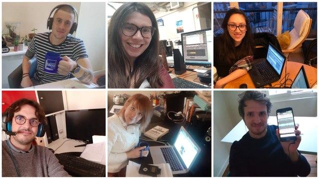 Coronavirus : en immersion à France Bleu Berry en période de confinement