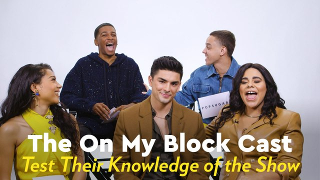 Watch the On My Block Cast Quiz Each Other on Their Knowledge of the Series