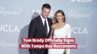 Tom Brady Goes To Tampa Bay Buccaneers