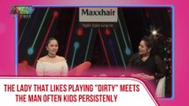 """The lady that like playing """"dirty"""" meets the man often kids persistently"""