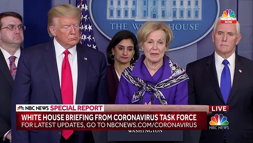 Trump, White House Coronavirus Task Force Hold News Conference
