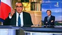 """La petite phrase de  Laurent Nuñez, hier soir sur France 2, qui énerve le personnel soignant: """"Il n'y a pas de problème de masques en France"""""""