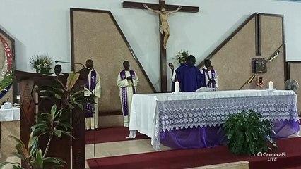 Messe du 21 mars 2020 par P. Marcel T. Sarr (omi)