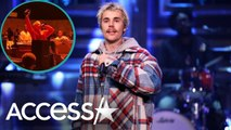 Justin Bieber Sings Emotional Ballad at Kanye's Sunday Service