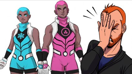 Marvel's Stunning and Brave New Warriors