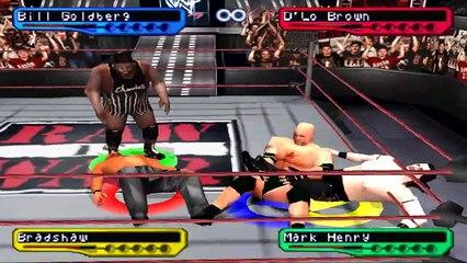 WWF Smackdown! 2 - Bill GoldBerg season #3