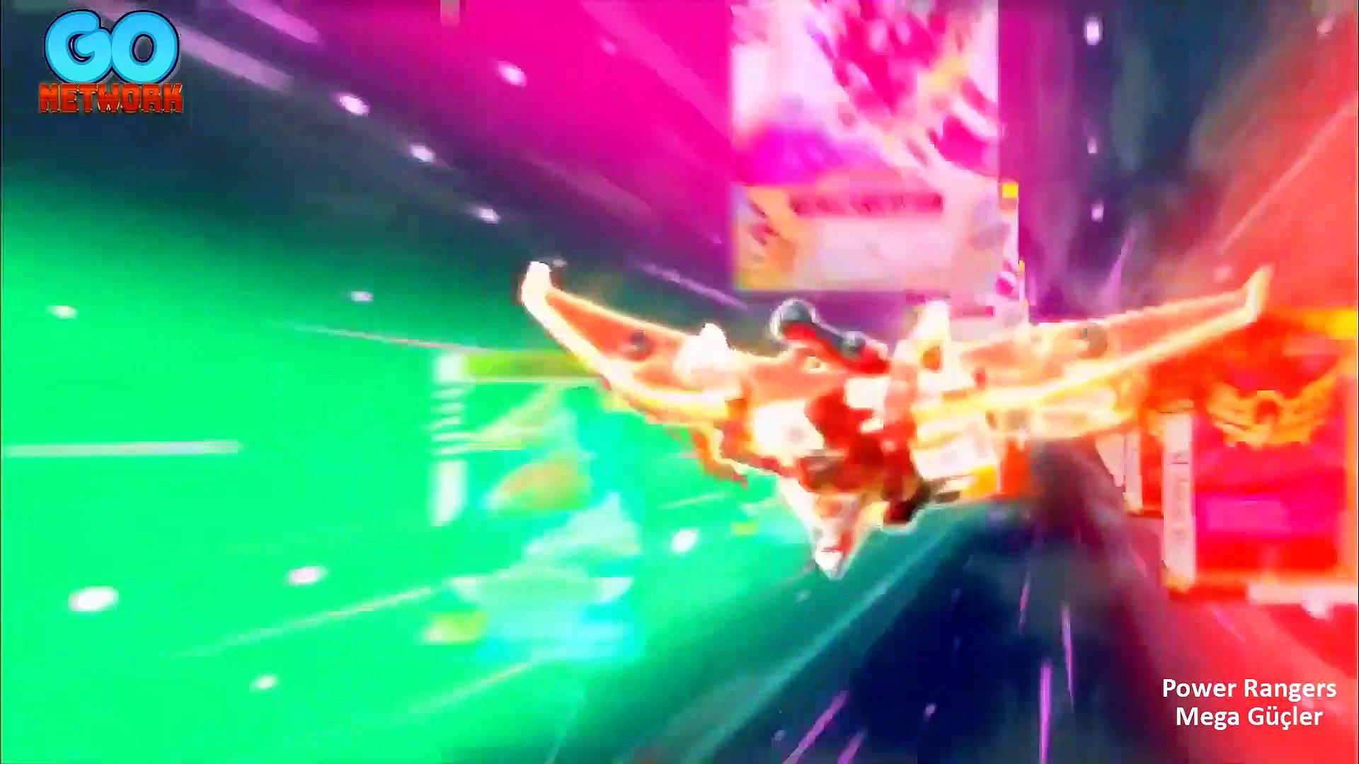 Power Rangers Mega Güçler 3.Bölüm Virüs Yayılıyor Bluray Full Hd