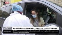 Le drive-corona, le nouveau test de dépistage en voiture