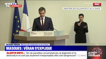 "Olivier Véran: ""Nous disposons d'un stock d'État de 86 millions de masques"""