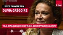 """Olivia Grégoire : """"Pas de nouvelles mesures de confinement, mais une application plus stricte"""""""