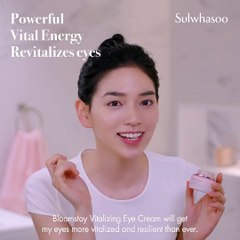 Bloomstay Vitalizing Eye Cream Tutorial