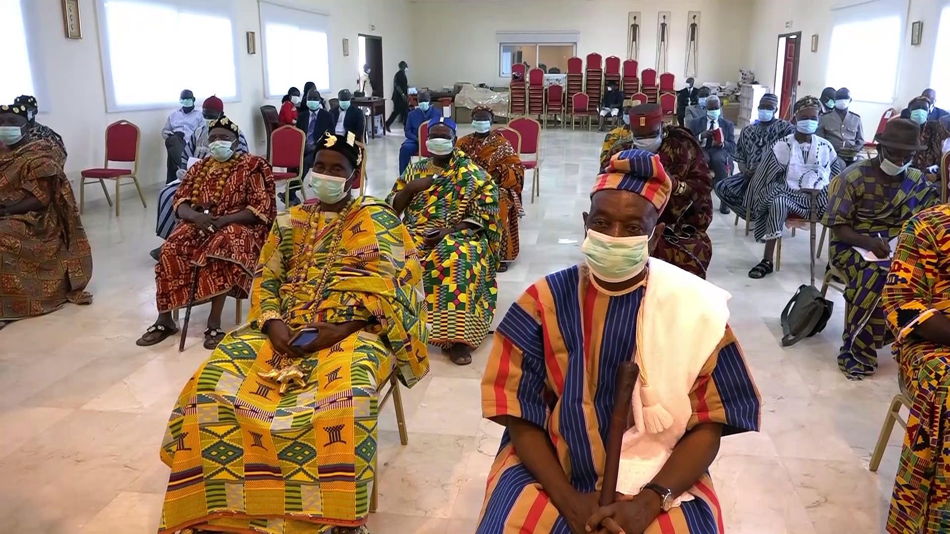 La chambre des Rois et Chefs traditionnels sollicitée pour la prévention contre Coronavirus