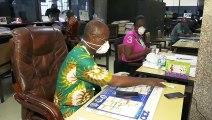 Coronavirus :  Constat du respect des mesures dans le milieu professionnel en Côte d'Ivoire