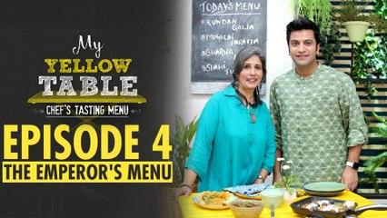Mughlai Paratha, Kundan Qalia, Shahi tukda Recipe | My Yellow Table | EP 4 | Chef Kunal Kapur