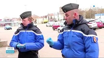 La punchline d'un gendarme à une femme venue acheter du Coca en plein confinement