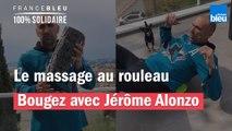 Le massage au rouleau avec Jérôme Alonzo