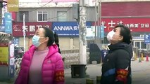COVID-19 New: On the Scene - Disinfection at Wuhan's old town complex amid the coronavirus epidemic